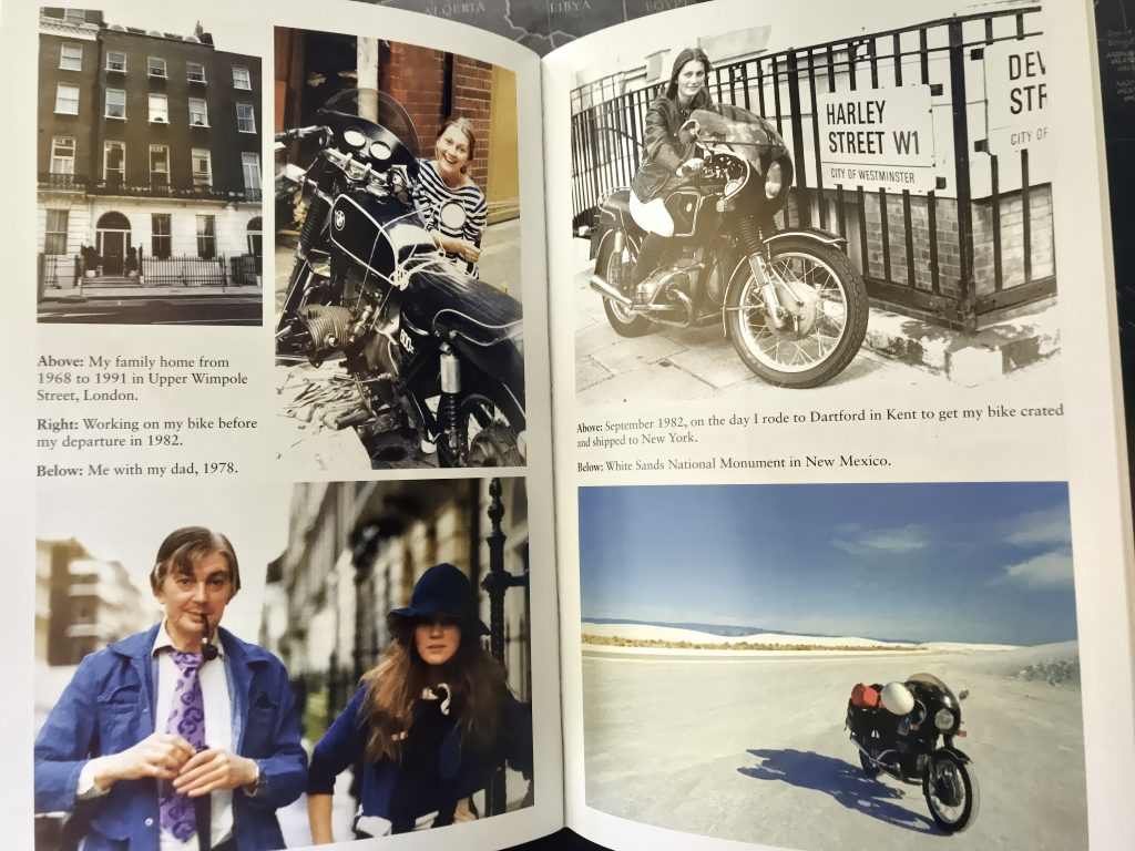 elspeth beard lone rider motorbike adventure book