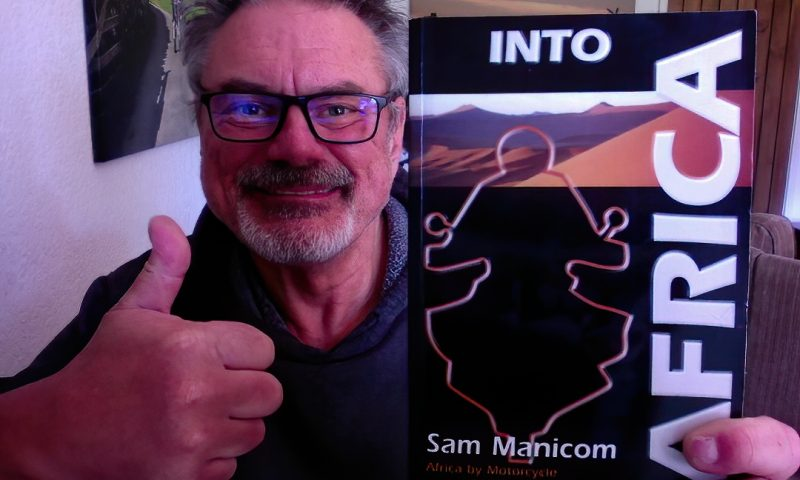 MOTORBIKE ADVENTURE BOOK - sam manicom books